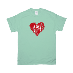 I love Dogs Unisex T-Shirts