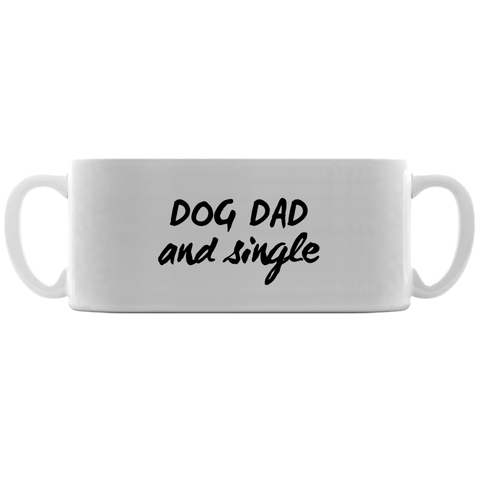Image of Dog Dad and Single Mug