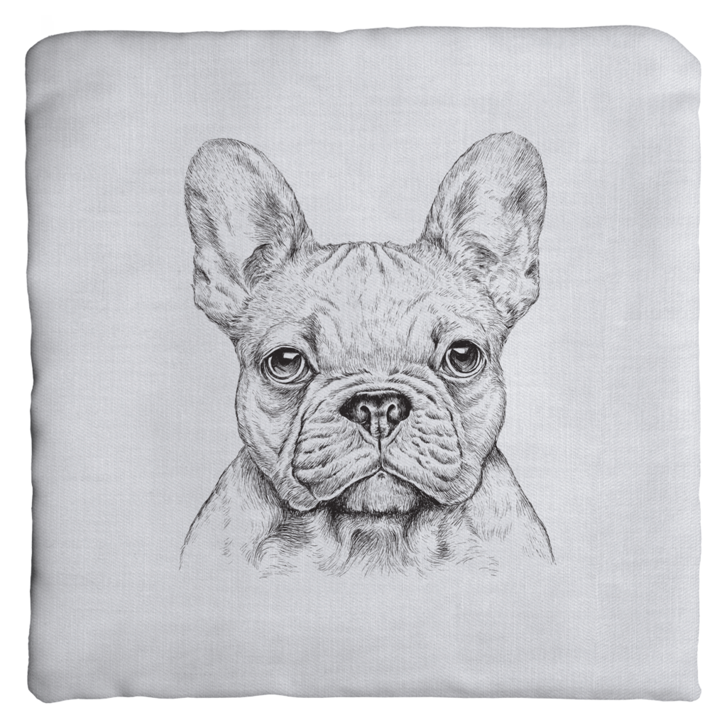 French Bulldog Throw Pillows