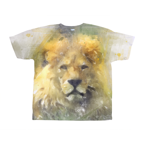 Image of Lion print  T-Shirts
