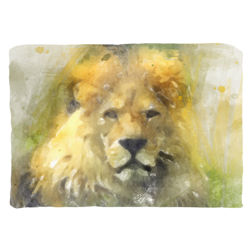 Lion and Giraffe Pillows Throw Pillows