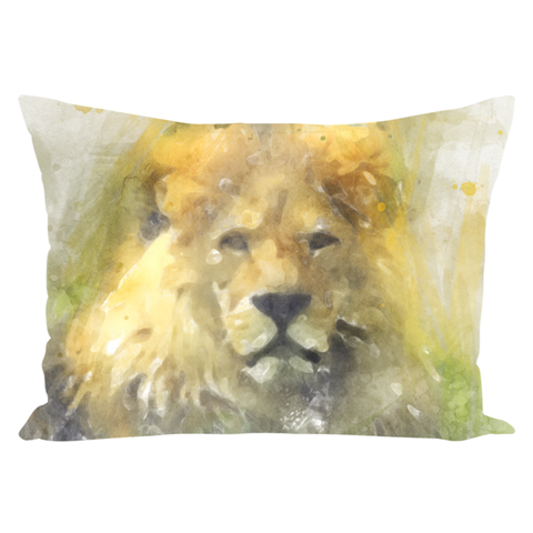 Image of Lion and Giraffe Pillows Throw Pillows