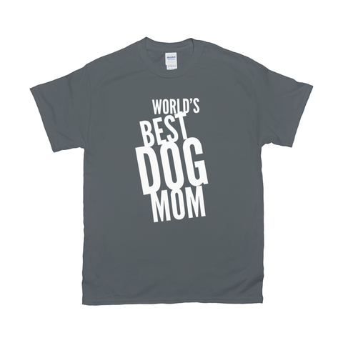 Image of Word's Best Dog Mom T-Shirts