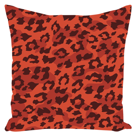Image of Leopard Pattern Pollows Throw Pillows