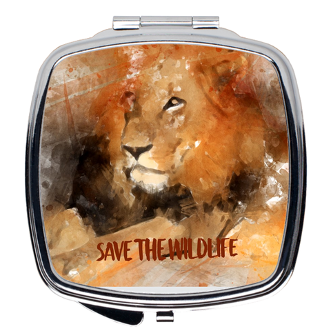 Image of Save the Wildlife Compact Mirrors