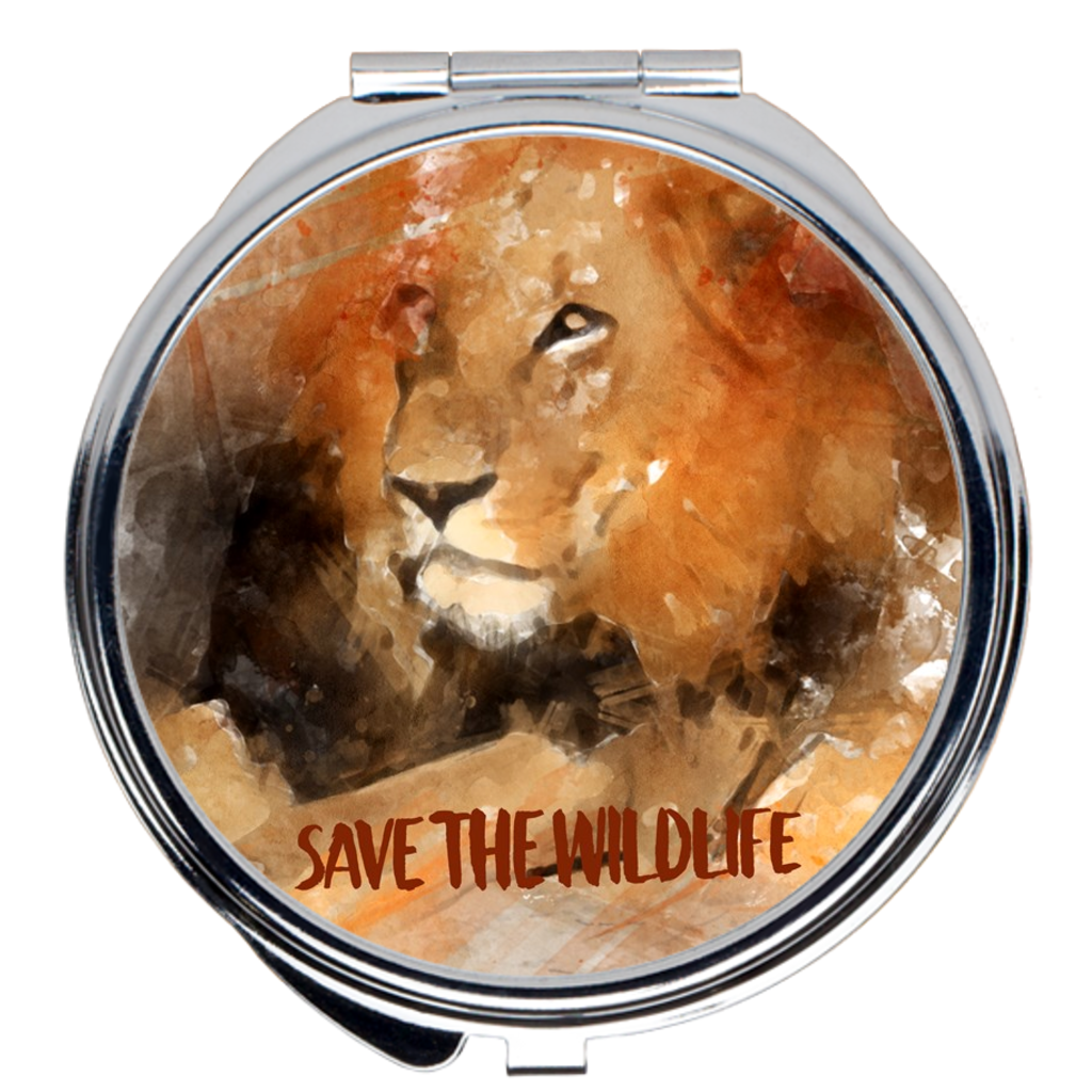 Save the Wildlife Compact Mirrors