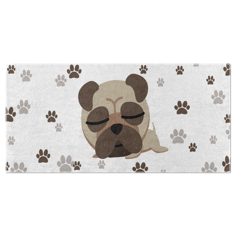 Image of Dog Lover Beach Towels