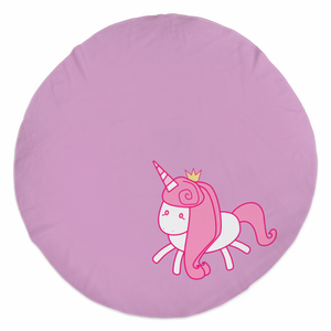 Rounded Beach Towels - Unicorn