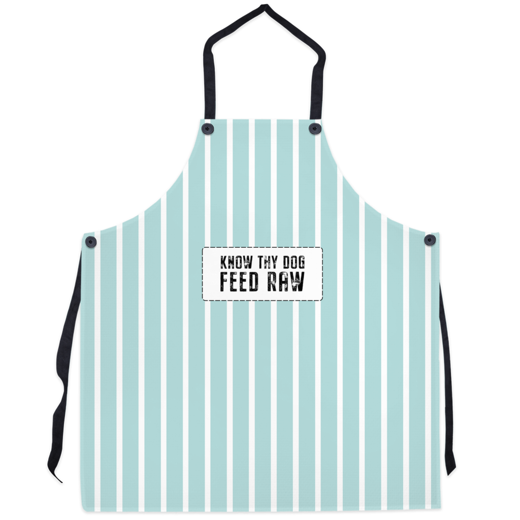 Aprons Know Thy Dog - Light Green