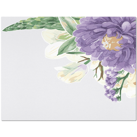 Image of Purple Flower Placemat