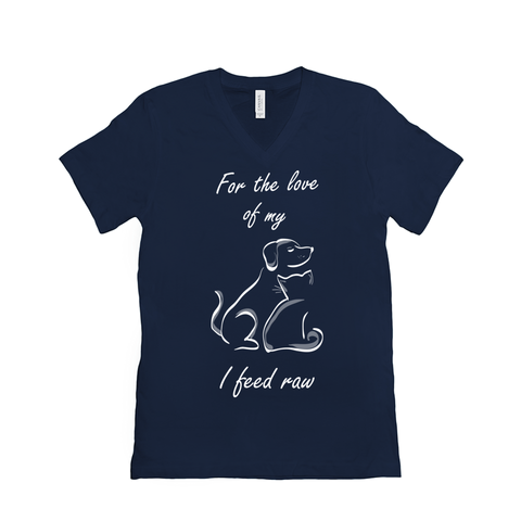 Image of I feed raw for the love of my pets - T-Shirts