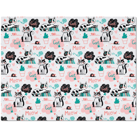 Colorful Placemat for Cat Lovers