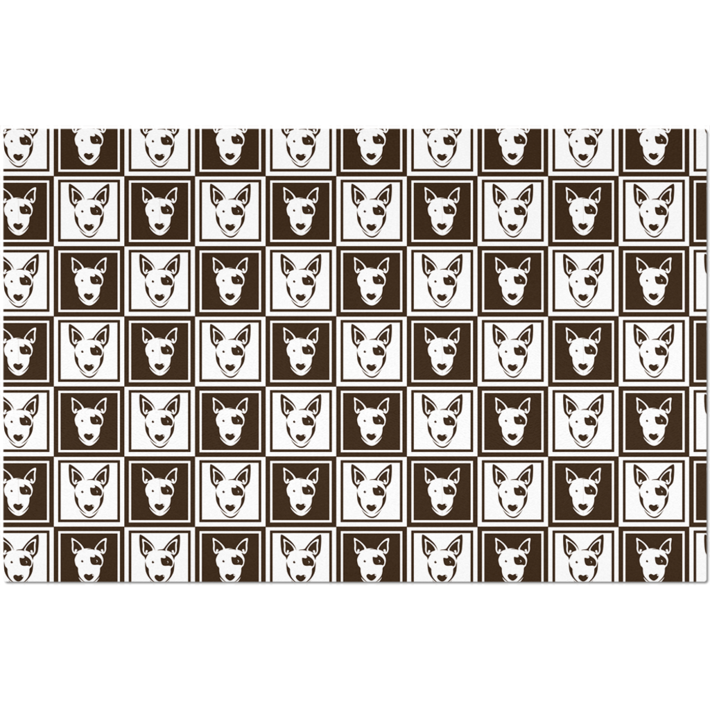 Bull Terrier Pattern  Placemat