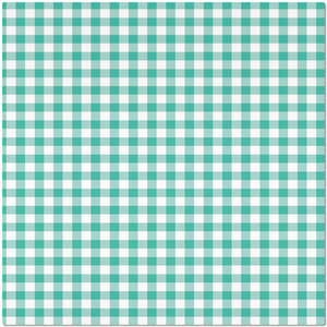 Classic Green Checkered Placemat