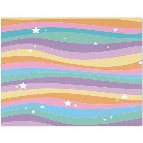Colorful Rainbow Unicorn Placemat