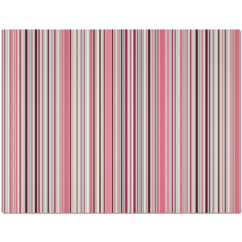 Placemat with Pink Stripes
