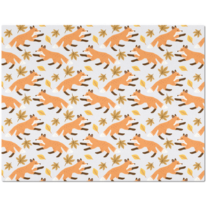 Placemat with Fox Pattern