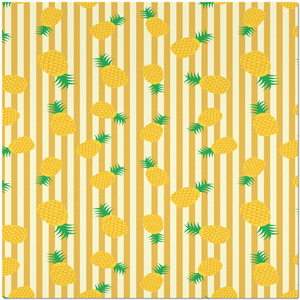 Placemat with Pineapple Design