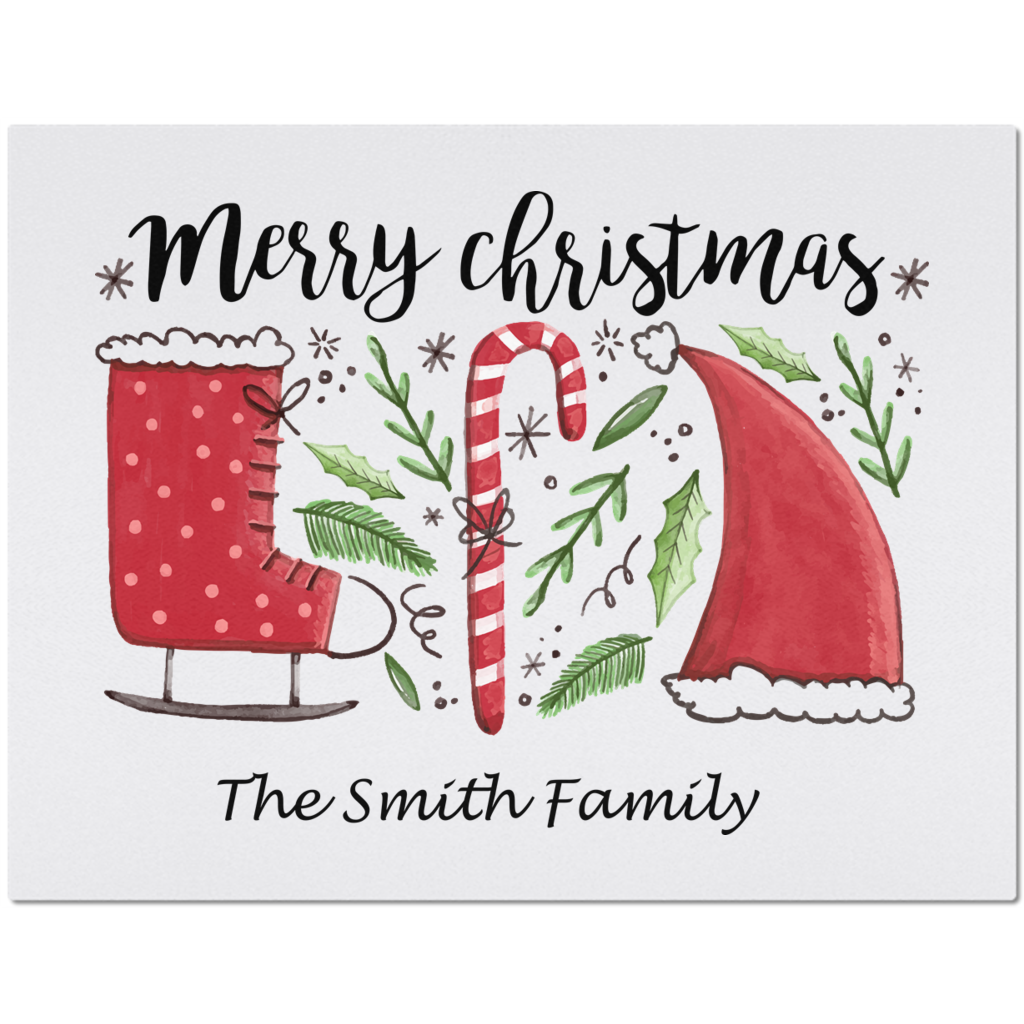 Marry Christmas Placemats You can Personalize