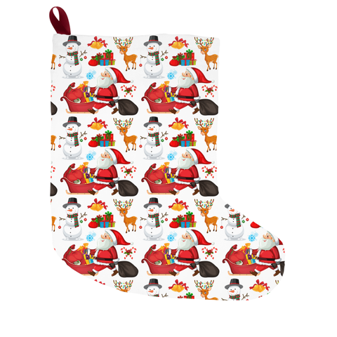 Image of Santa Christmas Stockings