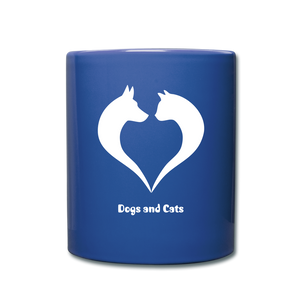 I love Dog and Cats Full Color Mug