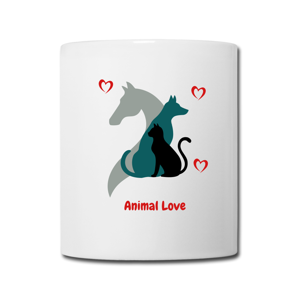 Animal Lover Mug -Coffee/Tea Mug - white
