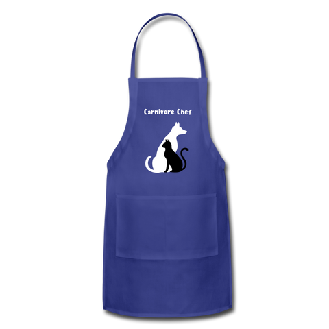 Image of Adjustable Apron - royal blue