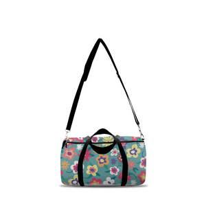 Colorful Floral Duffle Bags