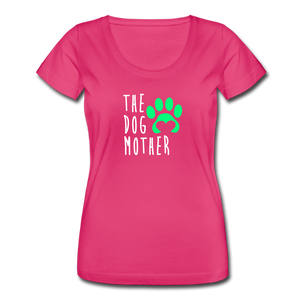 Women's Scoop Neck T-Shirt - hot pink