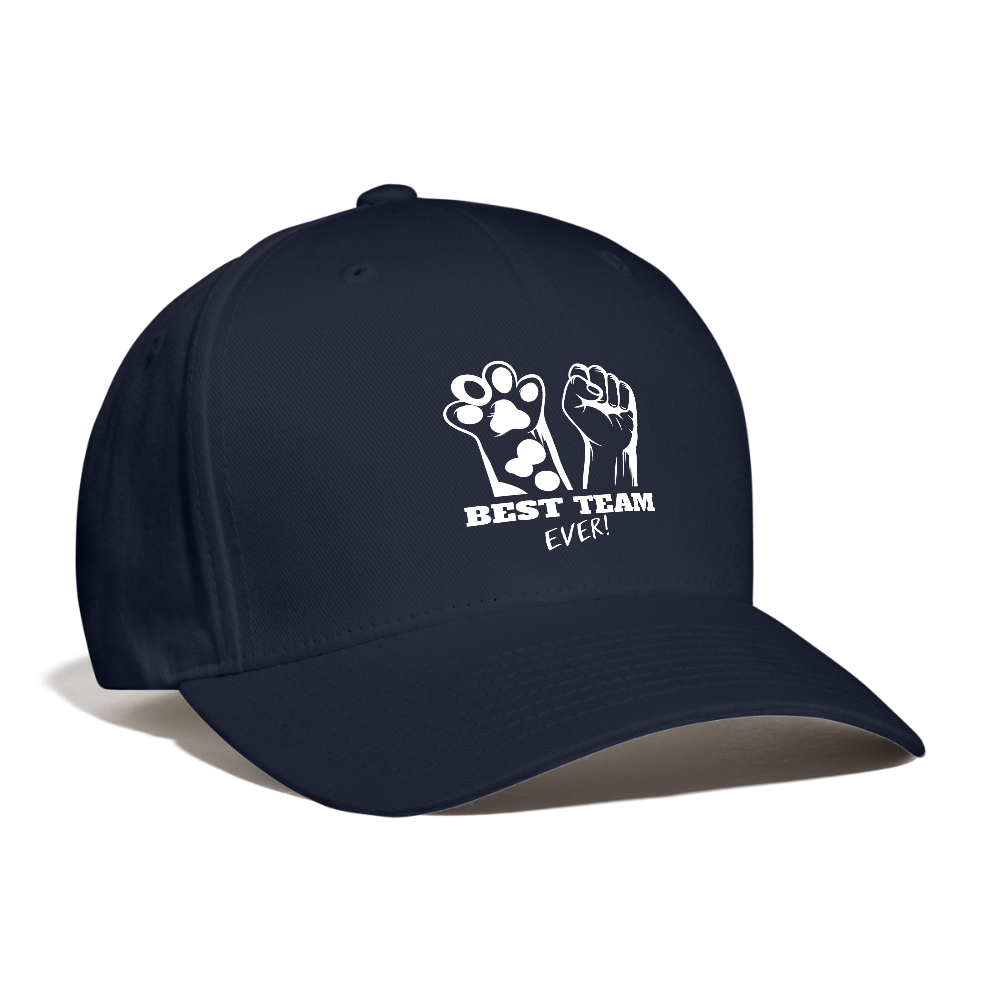 Best Team Ever Baseball Cap - navy