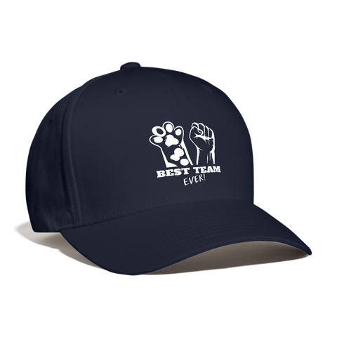 Image of Best Team Ever Baseball Cap - navy