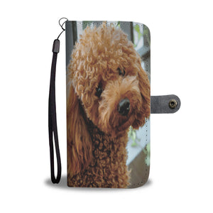PERSONALIZE this Wallet Case for your Phone with your Favorite Poodle Photo