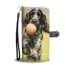 PERSONALIZE this Wallet Case for your Phone with your Favorite Cocker Spaniel Photo