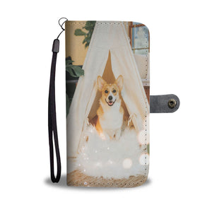PERSONALIZE this Wallet Case for your Phone with your Favorite Corgi Photo