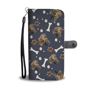 Put Your Beloved Pet on a Wallet Case (Navy Blue)