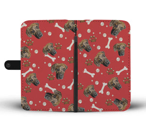 Put Your Beloved Pet on a Wallet Case (Red)