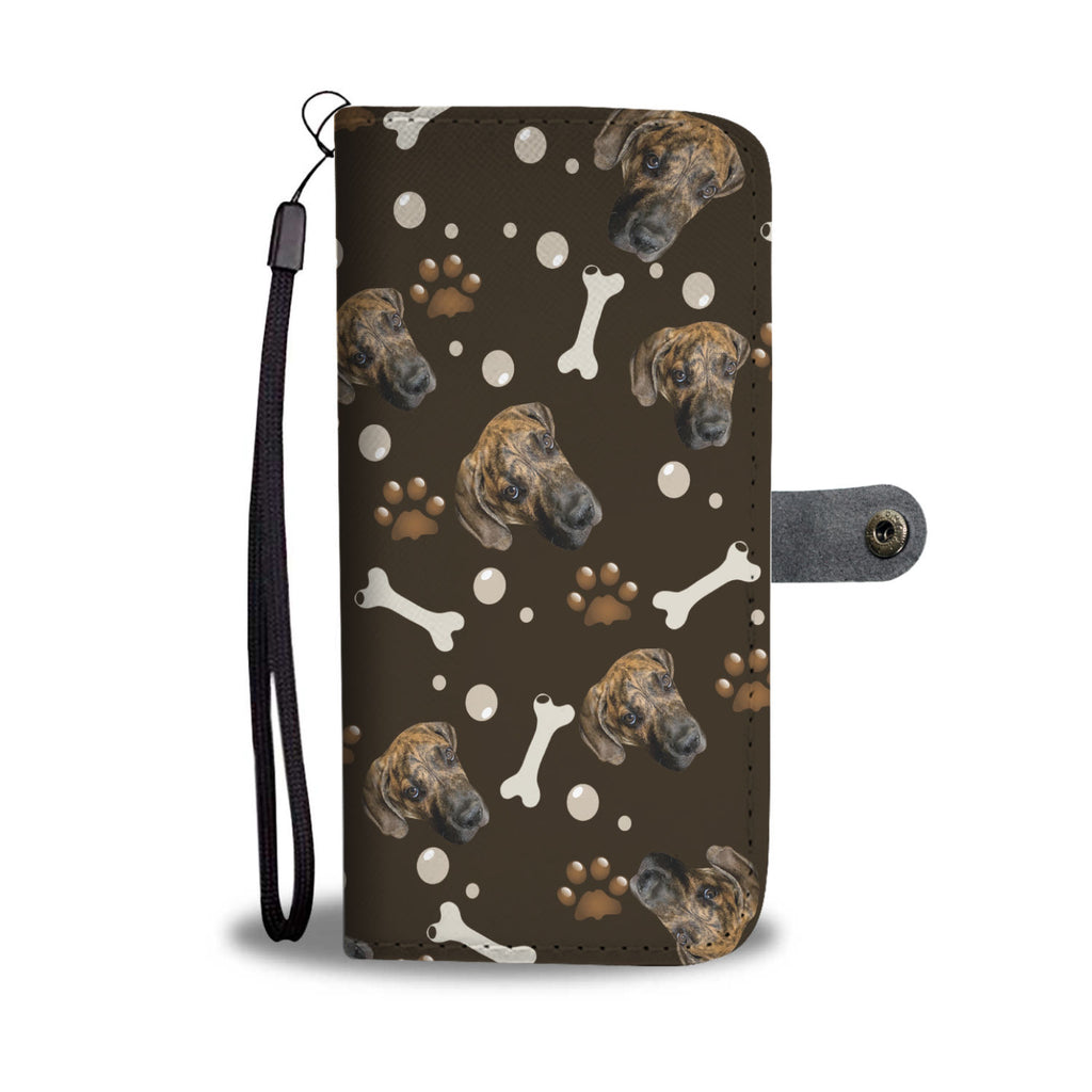 Put Your Beloved Pet on a Wallet Case (Brown)