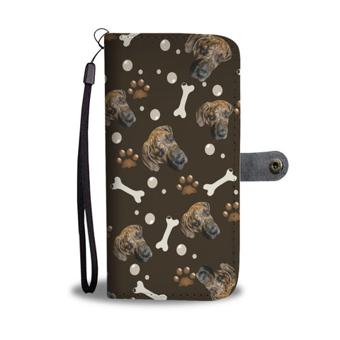 Image of Put Your Beloved Pet on a Wallet Case (Brown)