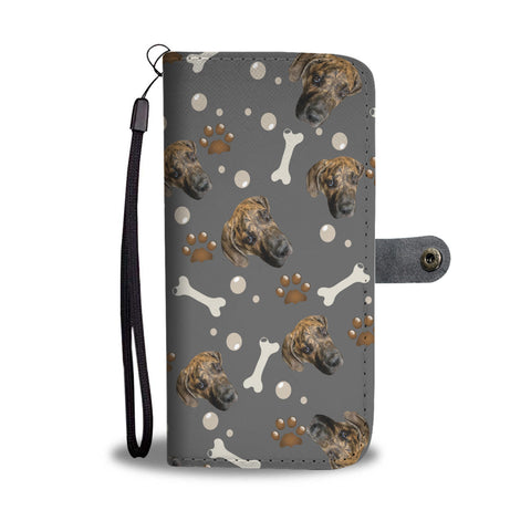 Image of Put Your Beloved Pet on a Wallet Case (Gray)