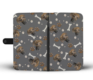 Put Your Beloved Pet on a Wallet Case (Gray)