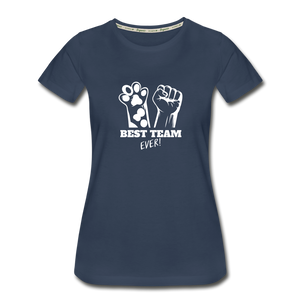 best team Ever Women's Premium Organic T-Shirt - navy