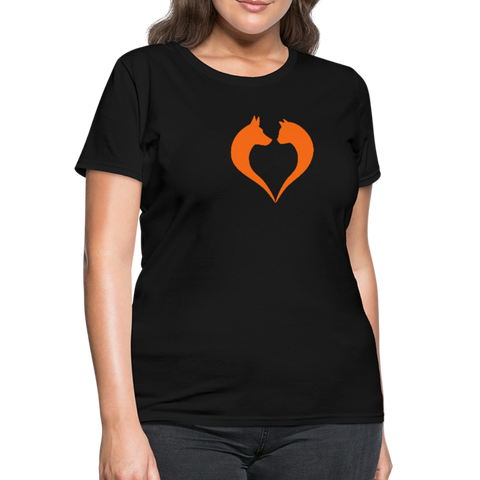 I love dogs and cats Women's T-Shirt - black