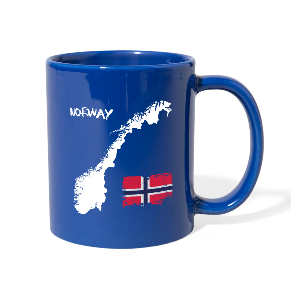 I love Norway Full Color Mug - royal blue