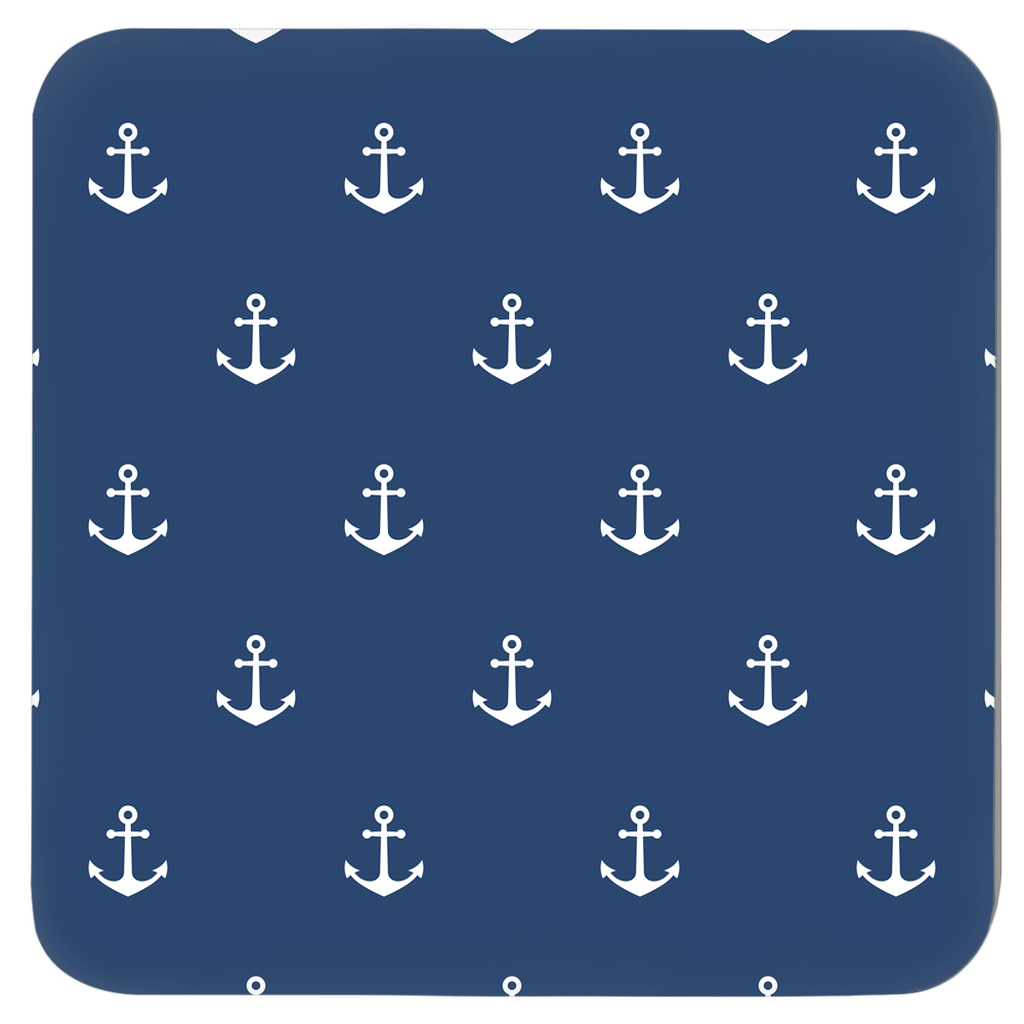 Nautical Coasters - Anchor Design