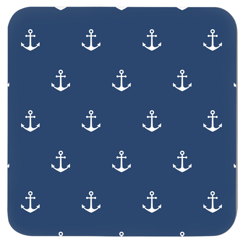 Image of Nautical Coasters - Anchor Design