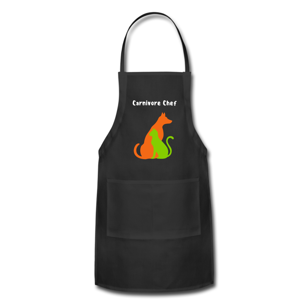 Carnivore Chef Apron - black
