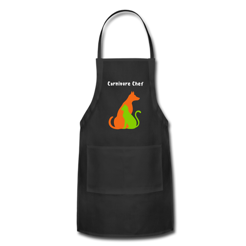 Image of Carnivore Chef Apron - black