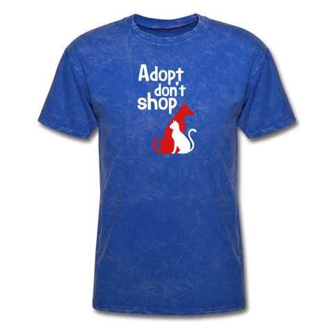 Adopt don't Shop Men's T-Shirt - mineral royal