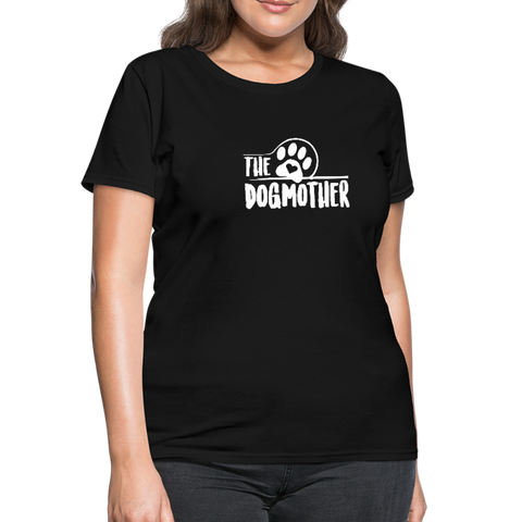 Image of The Dog Mother Women's T-Shirt - black