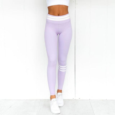 Cool Pastel 3D Print Leggings